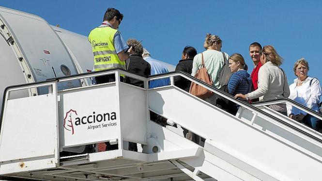 Ohne das Handling-Personal geht nichts auf den Flughäfen.