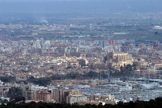 Wohnungen sind knapp: Blick auf Palma.