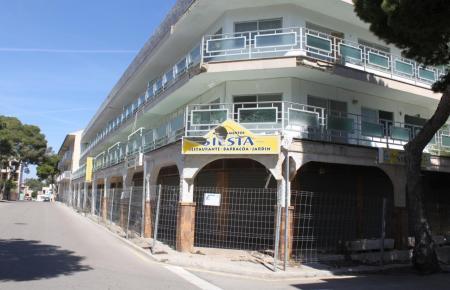 Die Apartamentos Siesta stehen seit vielen Jahren leer.