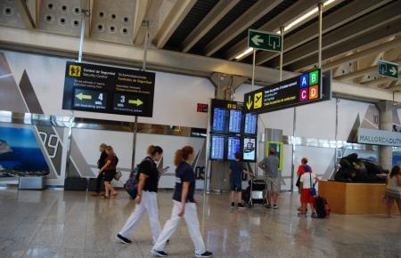 Blick in den Flughafen Son Sant Joan.