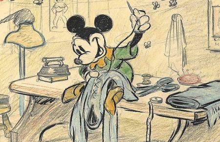 Gestatten, Mickey Mouse...