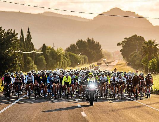 """In diesem Jahr wollen 8000 Sportler am """"Mallorca 312"""" teilnehmen."""