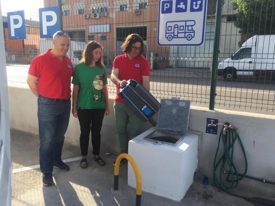 In Son Castelló gibt es eine neuen Anlaufpunkt für Wohnmobile.