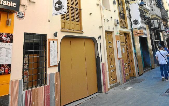 Die Bar befindet sich im Lonja-Viertel in Palma.