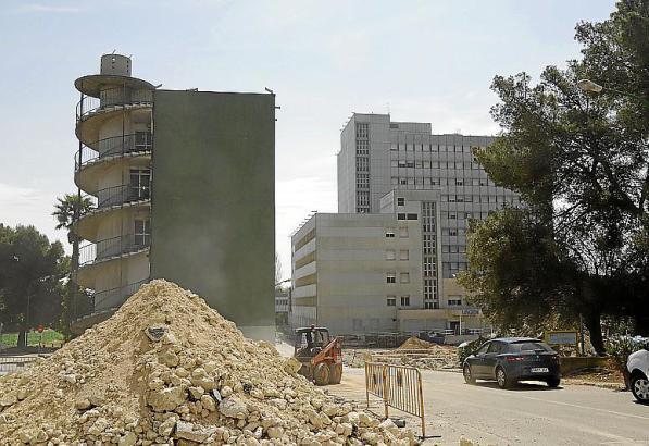 Die Abrissarbeiten in Son Dureta sollen bis 2020 dauern.
