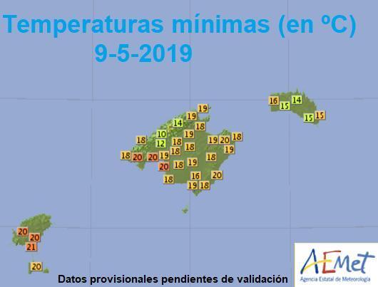 Als wäre es Juli: So mild wirds nachts auf Mallorca.