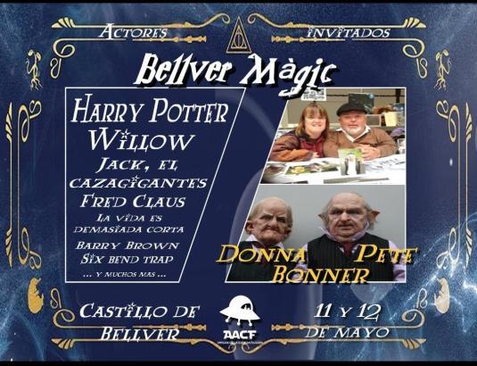 Das Schloss Bellver steht am Wochenende im Zeichen von Harry Potter.
