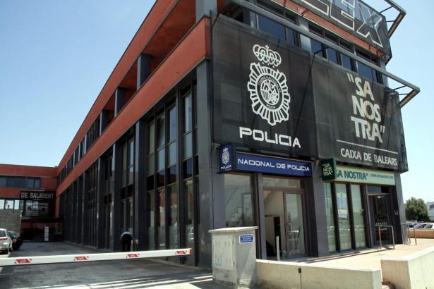 Das Polizeirevier Son Castelló in Palma de Mallorca.