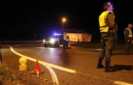Patrouille der Guardia Civil im Einsatz.