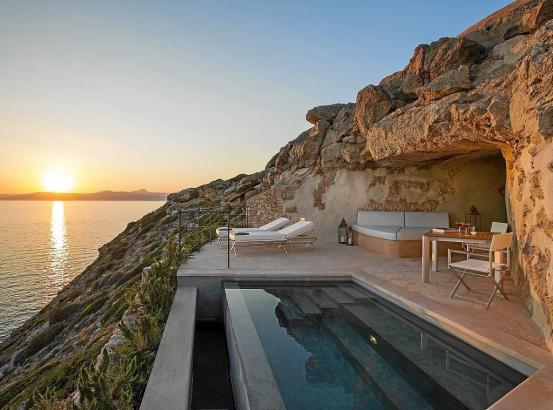 Wie hier im Hotel Cap Rocat in Cala Blava wird es überall wieder angenehmer.
