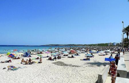 Strandwetter pur auf der Insel