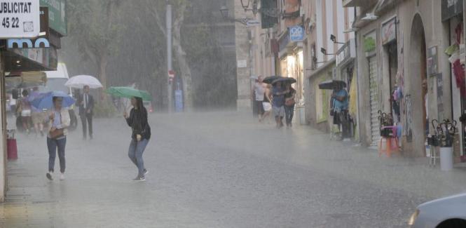 Es lohnt sich, die Regenschirme auszupacken.