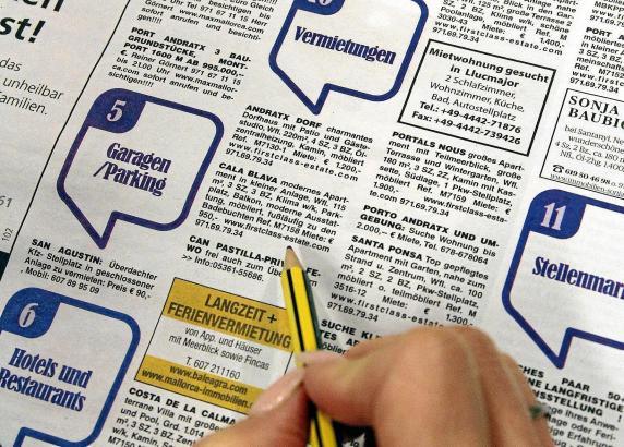 Mietinserate im Mallorca Magazin.