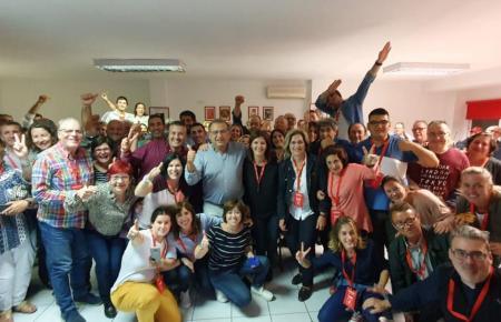 Die Sozialisten feiern in Calvià.