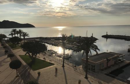 Mal Wolken, mal Sonne auf Mallorca.