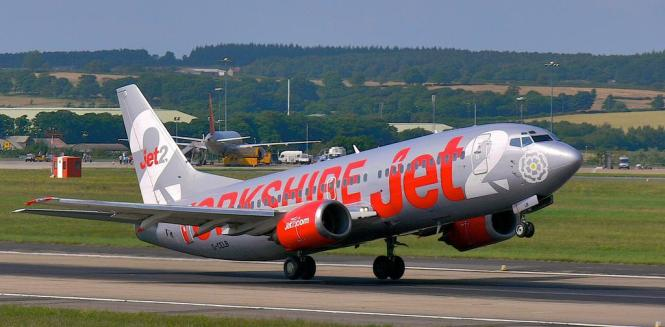 Boeing 737 von Jet 2.