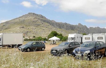 Auch bei Port de Pollença wird gedreht.