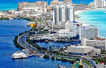 Cancún in Mexiko ist ein beliebtes Reiseziel.