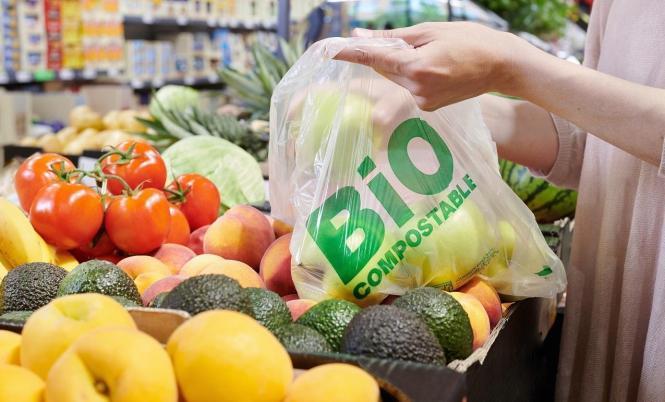 So sehen die neuen Beutel für Obst und Gemüse bei Lidl auf Mallorca aus.