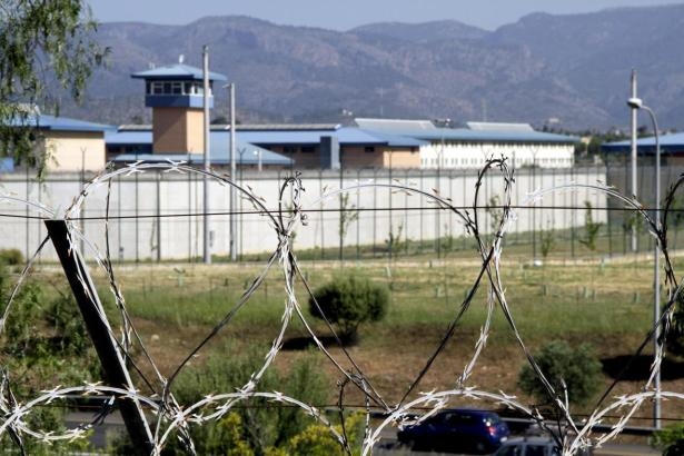 Blick auf das Gefängnis von Mallorca.