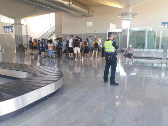 Der Kreuzfahrtterminal von Palma wurde am Dienstagvormittag evakuiert.