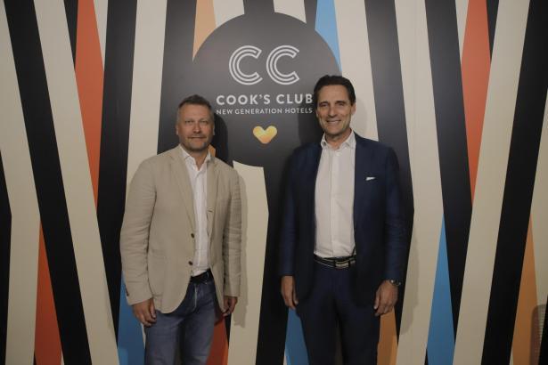 Zu Pressekonferenz auf Mallorca kamen Thomas-Cook-CEO Peter Fankhauser (r.) und Innovationschef Enric Noguer.
