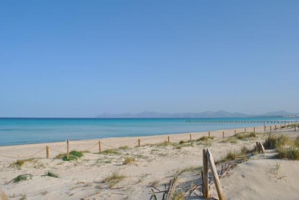 Blick auf den Muro-Strand.