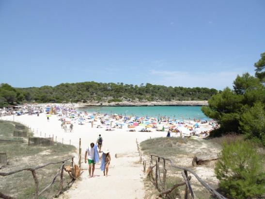 Die Cala Mondragó auf Mallorca.