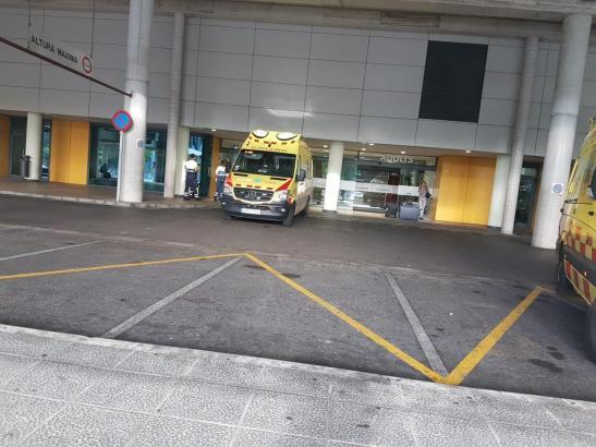 Notaufnahme des Uni-Klinikums Son Espases auf Mallorca.