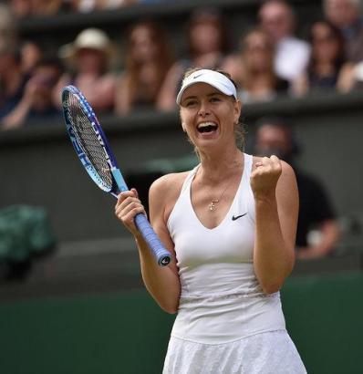 Maria Sharapova konnte alle vier Grand-Slam-Turniere mindestens einmal gewinnen.