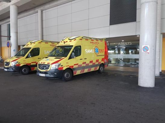 Die Spanierin wurde mit schweren Verletzungen in Son Espases eingeliefert.