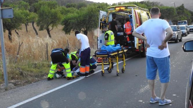 Die beiden Frauen kamen ins Krankenhaus.