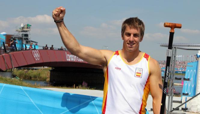 Sete Benavides bei Olympia 2012.