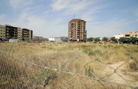 Bauplatz in der Urbanisation Son Ferragut in Palma de Mallorca.