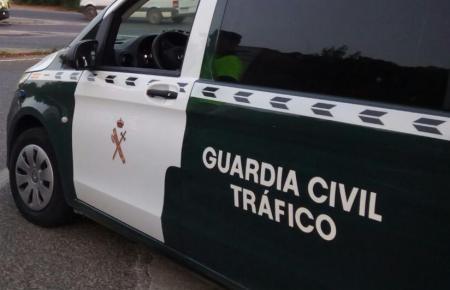 Bei dem Unfall kam die Guardia Civil de Tráfico zum Einsatz.