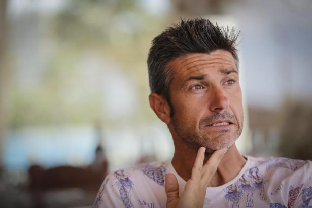 Deportivo-Trainer Pep Lluís Martí während eines Interviews mit der Zeitung Ultima Hora.