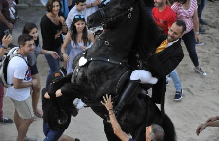 Die Pferde stehen im Mittelpunkt der Feierlichkeiten.