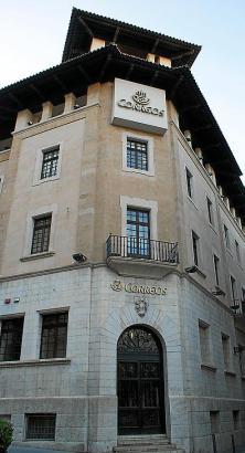 Der Hauptsitz von Postdienstleister Correos in Palma.