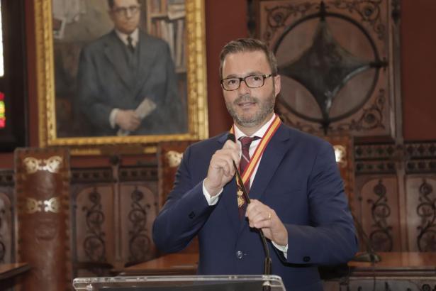 José Hila wird vier Jahre lang Rathauschef in Palma sein.