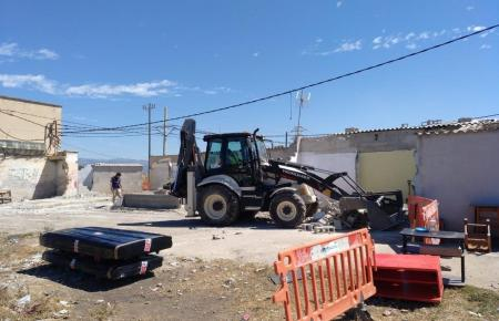 In Palmas Problemviertel rücken wieder die Abrissbagger an.
