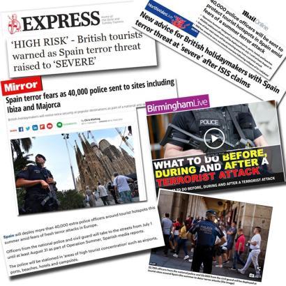 Britische Negativschlagzeilen über Mallorca.