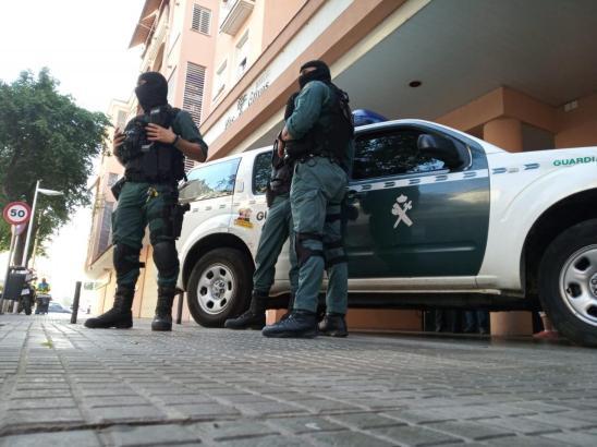 Agenten der Guardia Civil.