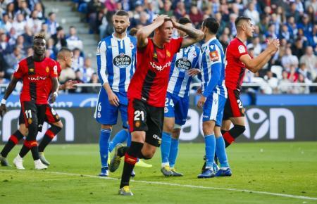 Enttäuschung bei Real Mallorca.