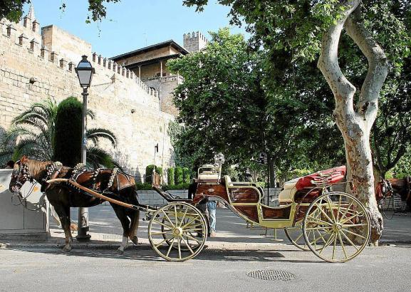Kutsche in Palma.