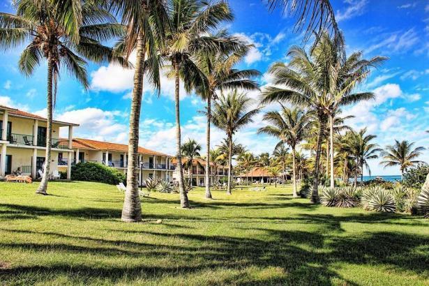 Strandhotel auf Kuba.
