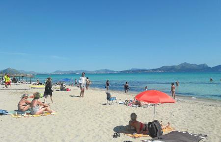 Die Playa von Can Picafort wurde mit der Negativauszeichnung versehen.
