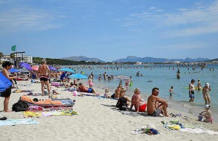 Strand auf Mallorca.