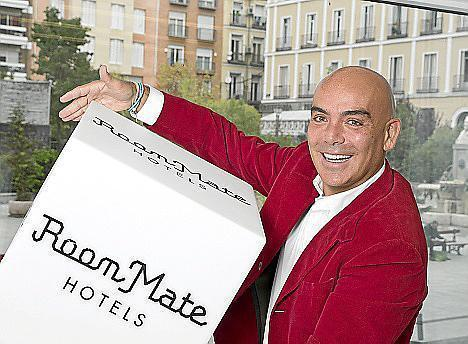 Kike Sarasola steht hinter der Marke Room Mate Hotels.