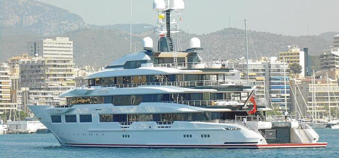 "Die ""Dreamboat"" gehört Arthur Blank."