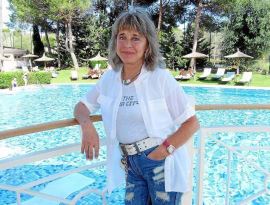 Suzi Quatro auf Mallorca.